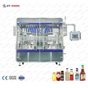 Servo Piston Filling Machine
