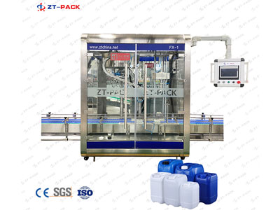Automatic Screw Capping Machine (for 10-30L Flat Bottle/Drum), FX-1